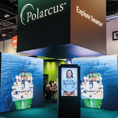 Polarcus Exhibition Stand